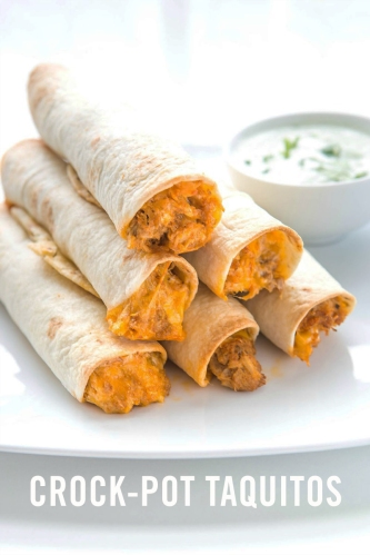 Crock-Pot-Taquitos