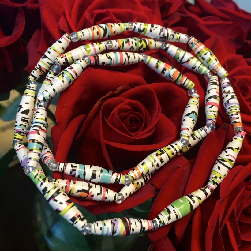 Monthly Challenge 2.2: Paper Bead Jewelry